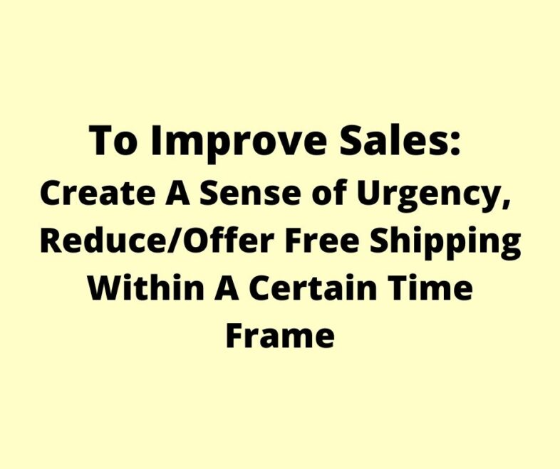 How To Improve Sales